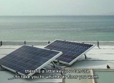 Thang máy dùng pin năng lượng mặt trời